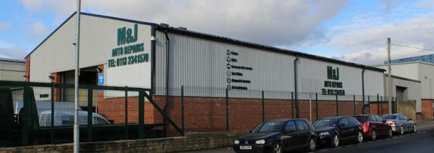 M & J Auto Repair Garage, Butterley Street, Leeds